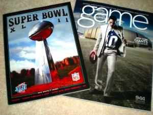 SUPER BOWL XLII Game PROGRAM GIANTS Eli Manning JERSEY Program COLLECTOR'S EDITION MAGAZINE