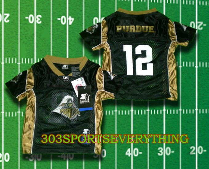PURDUE BOILERMAKERS CURTIS PAINTER JERSEY TODDLER FOOTBALL JERSEY 2T 3T or 4T
