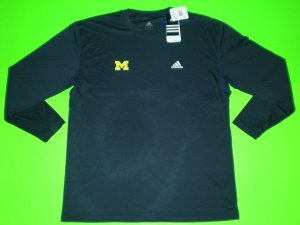 MICHIGAN WOLVERINES FOOTBALL ADIDAS LOOSE FIT UNDER ARMOUR LARGE  XL