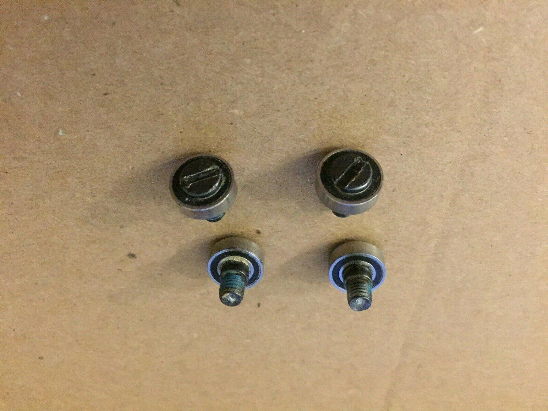 Lot of 4 Needle Bearings with Screws FOR ROCKWELL VERSACUT RK3440K