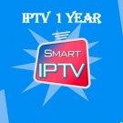 Smart IPTV subscription 12 months