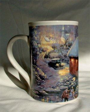 Thomas Kinkade Collectable Coffee Cup