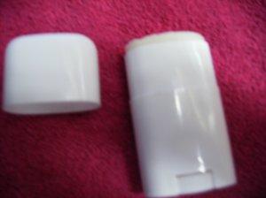 Coconut Oil Homemade Lotion Bars .5oz Small Deodorant Tube