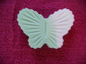 Peppermint Scented Butterfly Soap
