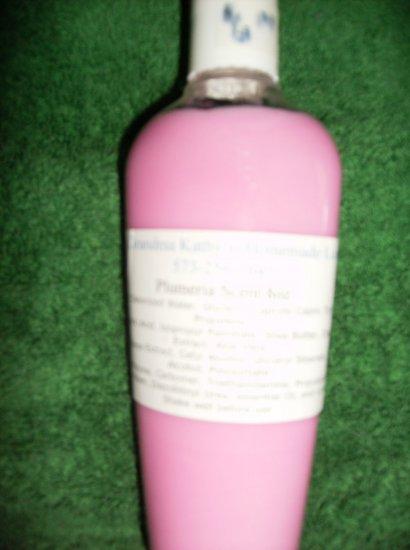 Plumeria Scented Homemade Lotion 8oz
