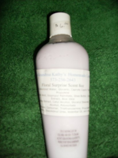 Floral Surprise Scented Homemade Lotion 8oz