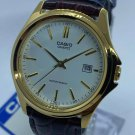 Casio Watch with Leather Band for Men Size