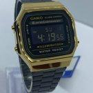 Casio Watch Digital Movement Stainless Steel Goldtone