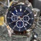 Seiko Chronograph Movement Size 40mm Diameter for MEN Size
