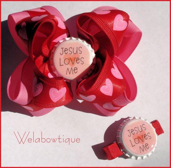 Valentine's Day Hairbow
