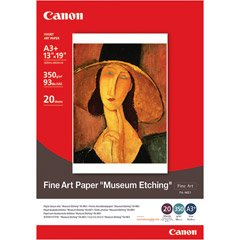 """Canon Fine Art Museum Etching Paper, 13"""" x 19"""", 20 Count"""