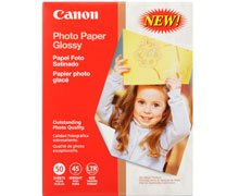"""Canon Glossy Photo Paper, 8.5"""" x 11"""", 100 Count"""