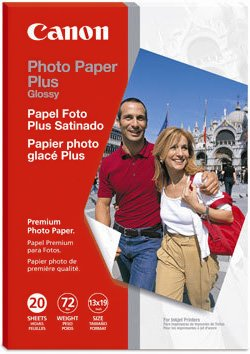 """Canon Glossy Photo Paper Plus, 13"""" x 19"""", 20 Count"""