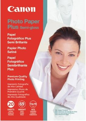 "Canon Photo Paper Plus Semi-Gloss, 13"" x 19"", 20 Count"