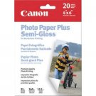 "Canon Photo Paper Plus Semi-Gloss, 4"" x 6"", 50 Count"