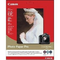 "Canon Glossy Photo Paper Pro, 8"" x 10"", 20 Count"
