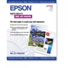 "Epson Photo Quality Inkjet Paper - 8.5"" x 11"" (Letter size) 100 Count"