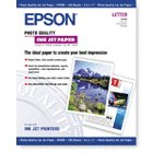 """Epson Photo Quality Inkjet Paper - 8.5"""" x 11"""" (Letter size) 100 Count"""