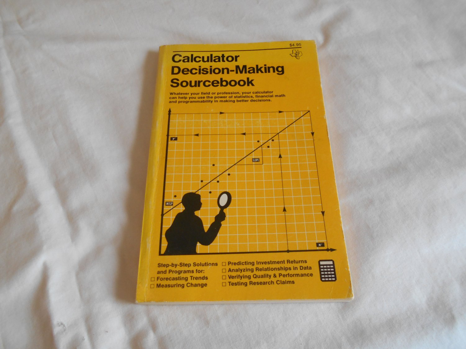 Calculator Decision Making Sourcebook by Texas Instruments Incorporated (1977) (B35)