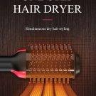 Hair Drier & A Brush 2 in 1 Hair Straightener