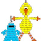bird and cookie monster