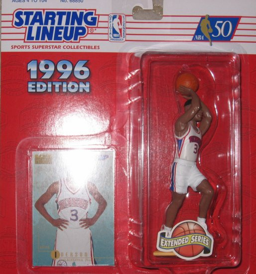 Allen Iverson 1996 Extended Series