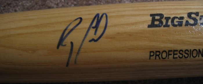 Ray Lankford Autographed Bat