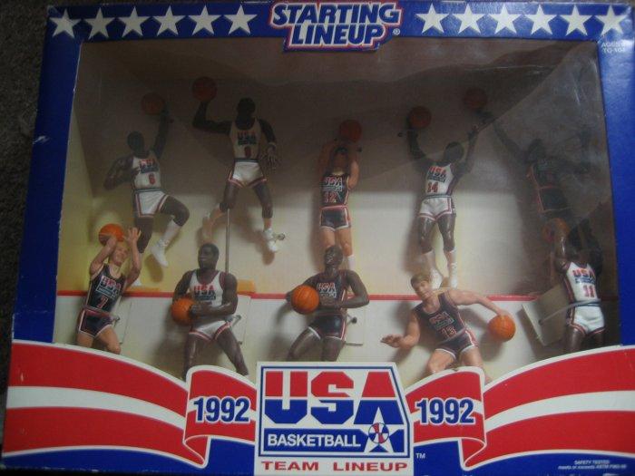 1992 USA Basketball Team Lineup  Starting Lineup