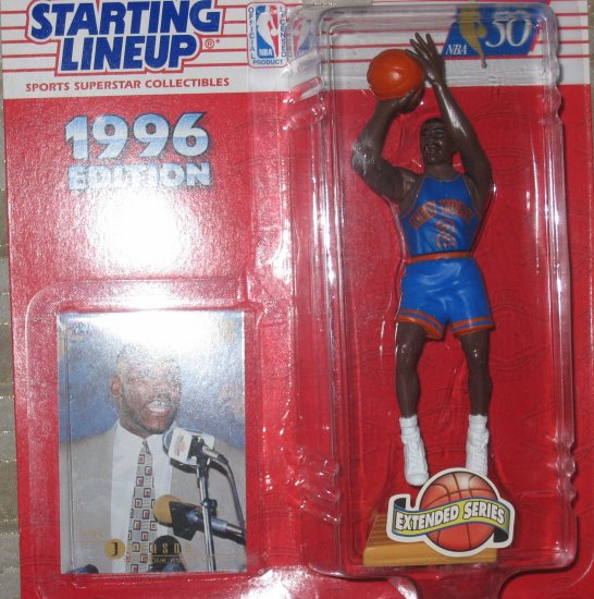 1996 Extended Series Larry Johnson Starting Lineup