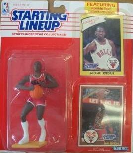 1990 Michael Jordan Chicago Bulls Starting Lineup