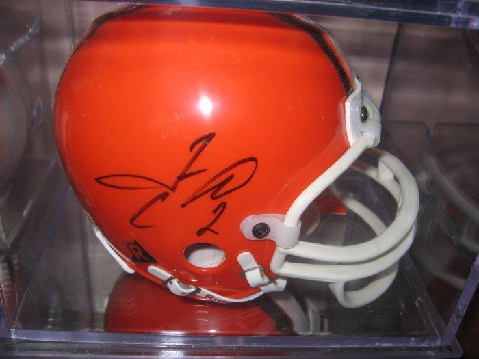 Tim Couch Autographed Mini Helmet