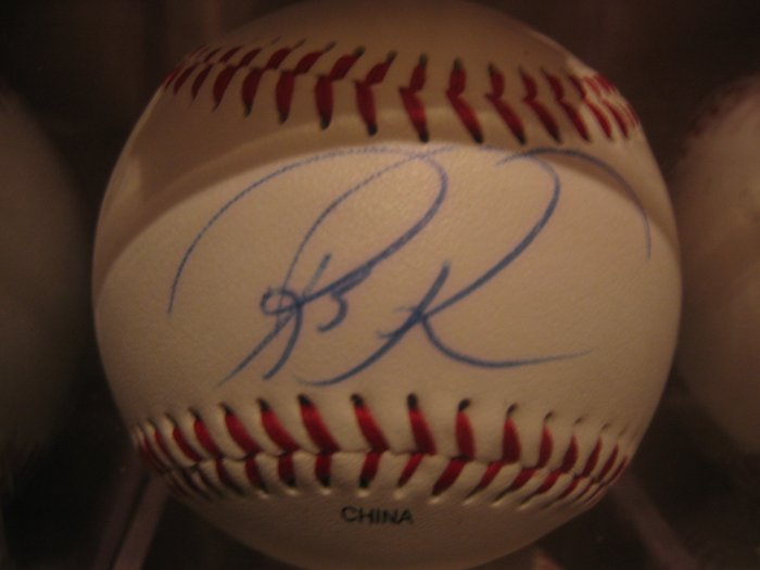 Rick Reed Autographed Official League Baseball