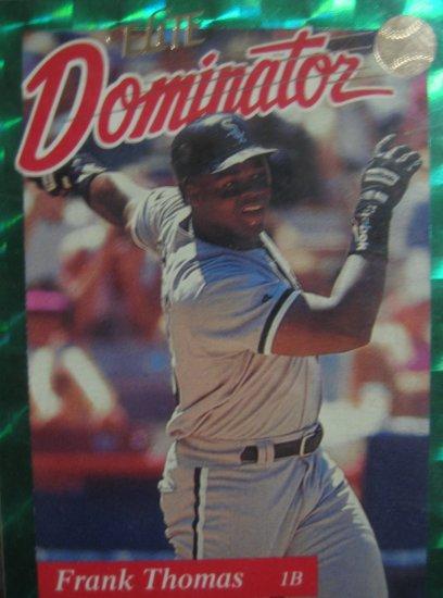 1993 Dondruss Elite Dominator Frank Thomas