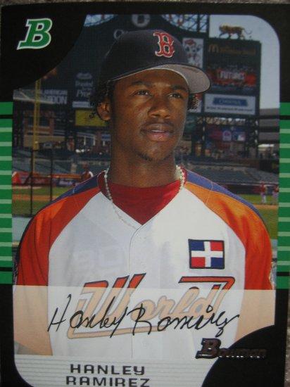 2005 Bowman Draft Picks Hanley Ramirez Card #BDP153