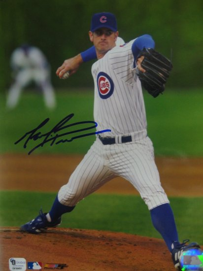 Mark Prior Autographed 8x10 Global Authenticated (GAI) Pose #1