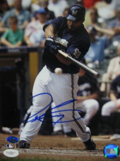 Prince Fielder Signed 8x10 Photo (JSA) (JT Sports)