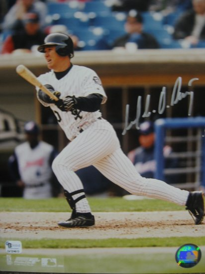 Magglio Ordonez Signed 8x10 White Sox Photo (GAI)