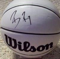 Brandon Roy Signed Mini Basketball (JSA)