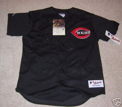 Austin Kearns Signed Authentic Reds Jersey (GAI)