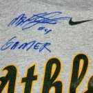 MIGUEL TEJADA SIGNED GAME USED T SHIRT (ASI)