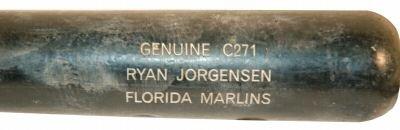 Ryan Jorgensen Game Used Bat (ASI)