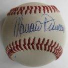 Mariano Duncan Signed Trump Signature Baseball