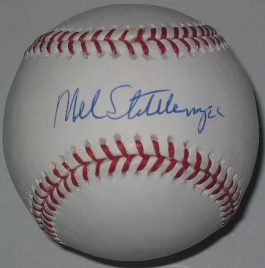 Mel Stottlemyre Signed Official Major League Baseball