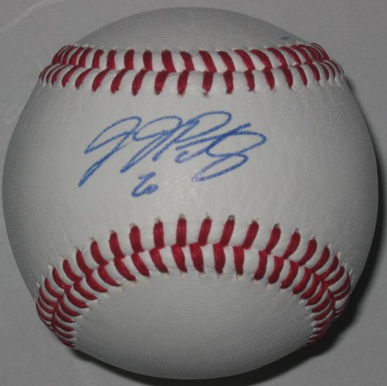 JJ Putz Signed Trump Signature Series Baseball