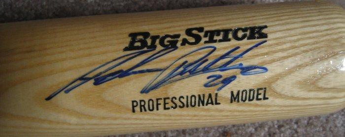 Adrian Beltre Signed Rawling Big Stick Bat (PSA/DNA)