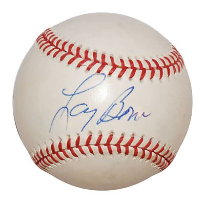 LARRY BOWA SIGNED MAJOR LEAGUE BASEBALL (ASI)