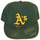 ADAM PIATT SIGNED GAME USED HAT (ASI)