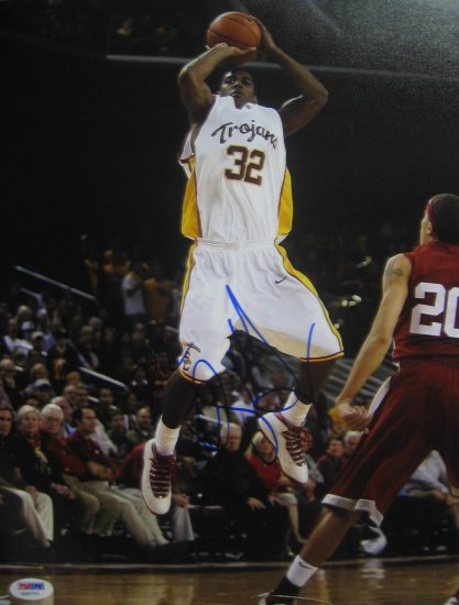 O.J. Mayo USC Trojans Signed 11x14 Photo (PSA/DNA)