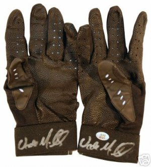 WADE MILLER SIGNED BATTING GLOVES ASTROS (ASI)