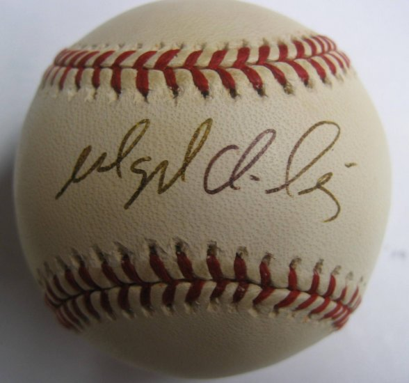 Magglio Ordonez SIgned Official Major League Baseball (PSA/DNA)